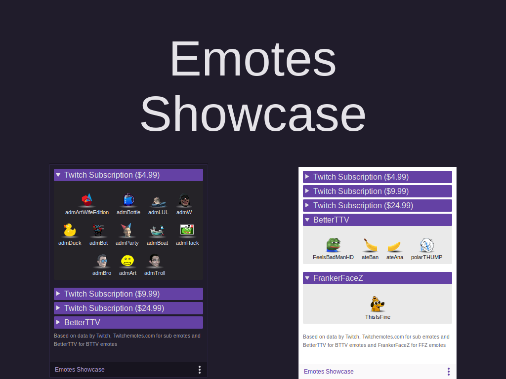 Extensions - Twitch